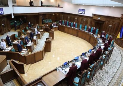 Засідання Великої палати КСУ 8 жовтня за конституційним поданням 47 нардепів, які домагаються скасування електронного декларування та моніторингу способу життя чиновників/КСУ