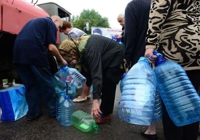 Кілька міст ЛНР залишилися без водопостачання/Ілюстративне фото