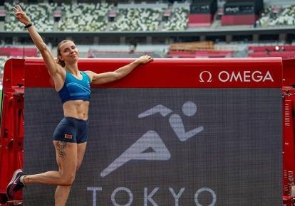 Кристина Тимановская на Играх в Токио