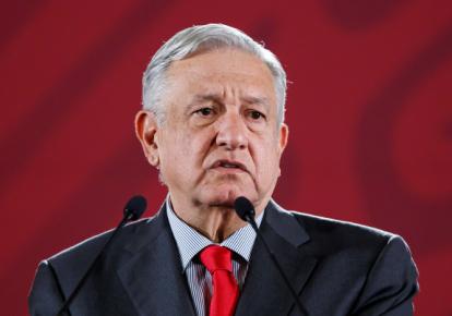 Президент Мексики Андрес Мануэль Лопес Обрадор