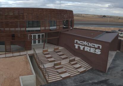 Испытательный центр Nokian Tyres в Испании