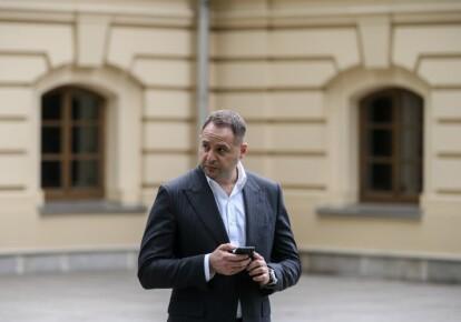 Глава Офиса президента Андрей Ермак