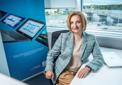 Ірина Вовк, генеральний менеджер Dell Technologies в Україні, Білорусі, Молдові, Азербайджані, Вірменії та Грузії
