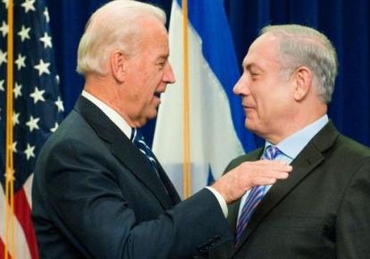 Президент США Джо Байден и премьер-министр Израиля Биньямин Нетаньяху