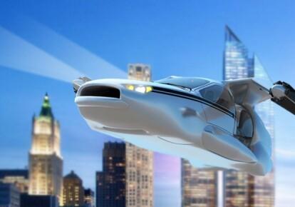 Новое авто в воздухе - вертолет, а на земле - электромобиль