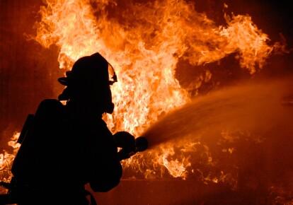 Пожар. Иллюстративное изображение