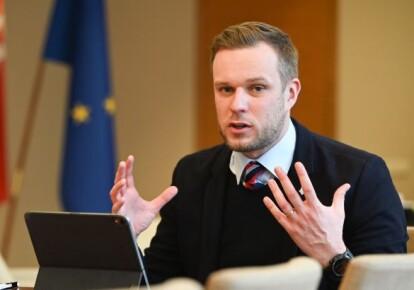 Міністр закордонних справ Литви Габріелюс Ландсбергіс
