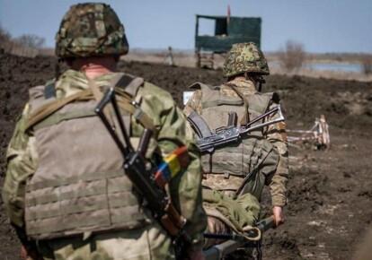 На оккупированном Донбассе боевики продолжают обстреливать позиции ВСУ
