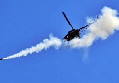 Ударный беспилотник AV500W во время испытаний