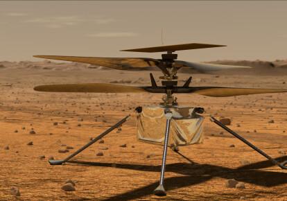 вертолет Ingenuity