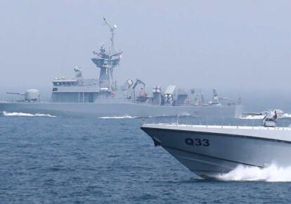 Ракетный катер типа Barzan, построенный по британскому проекту / Qatar Navy