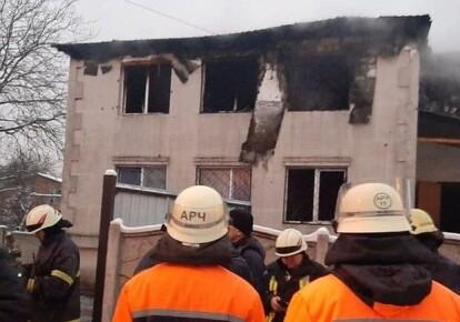 Пожежа у харківському будинку для літніх людей
