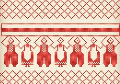 Протесты в Беларуси в традиционной вышивке