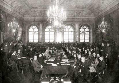 Начало польско-советских переговоров в Риге