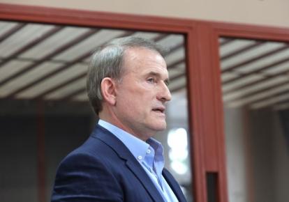 Віктор Медведчук під час засідання суду
