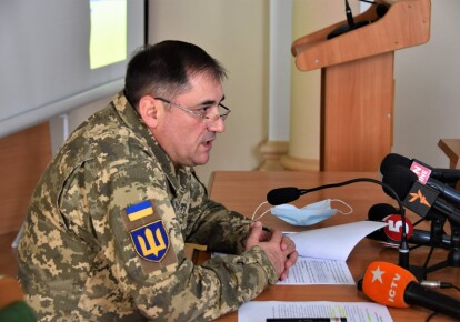 Генерал-майор Виктор Ганущак