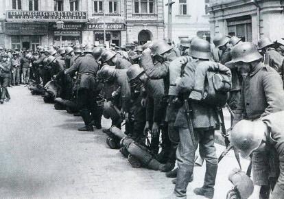 Німецькі війська в Києві, березень 1918 р.