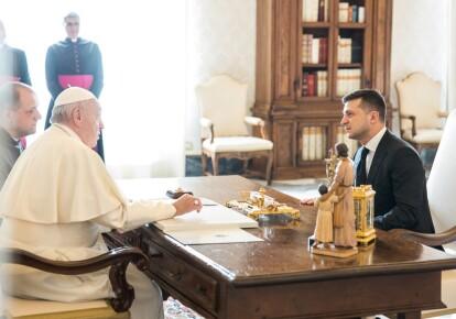 Папа Римський та Зеленський