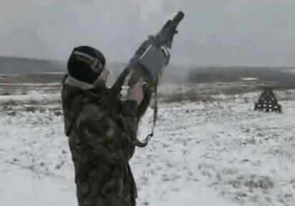 "Испытания гранатомета ""Шустер-40"""