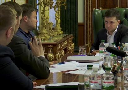 Фото: скриншот видео Офиса президента
