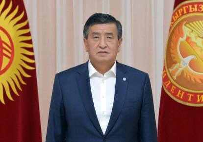 Президент Киргизстану Сооронбай Жеенбеков