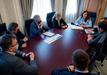 Зустріч за участі Юлії Свириденко