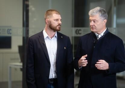 Володимир Борисенко і Петро Порошенко