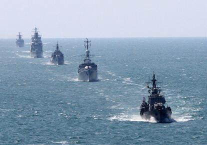 Корабли НАТО в Черном море. Фото: Getty Images