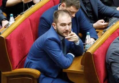 Олександр Юрченко на засіданні Верховної Ради