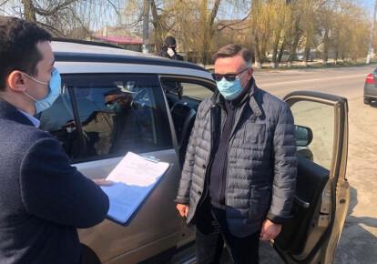 Леонид  Кожара задержан по подозрению в убийстве. Фото: facebook.com/anton.gerashchenko
