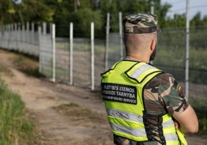 Эстония поможет Литве построить стену на границе с Беларусью