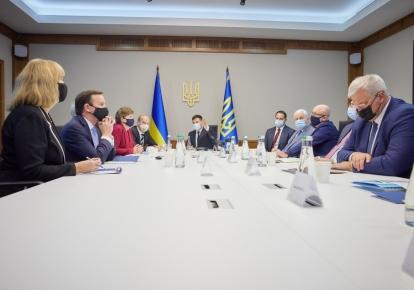 Володимир Зеленський на зустрічі з сенаторами