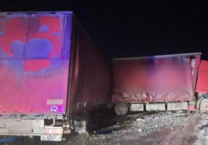 Авария произошла вечером 9 февраля под Кобеляками