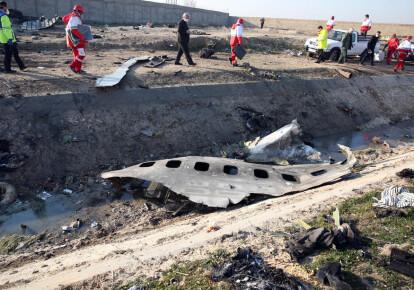 В Иране задержаны шестеро обвиняемых в уничтожении самолета МАУ. Фото: EPA/UPG