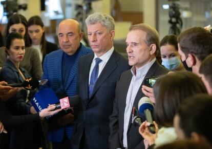 Вадим Рабинович, Юрий Бойко, Виктор Медведчук