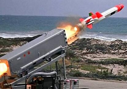 """Запуск ракети """"Буревісник"""""""