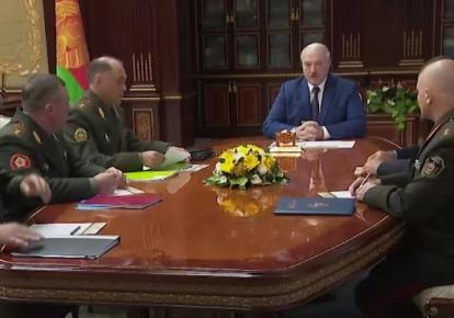 Лукашенко та його силовики
