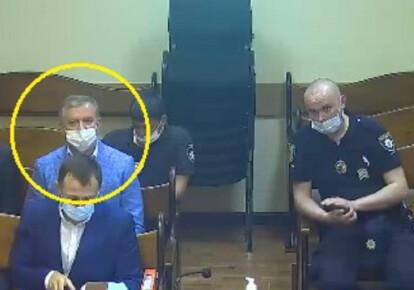 Николай Ильяшенко взят под стражу. Фото: Телеграм-канал Teza
