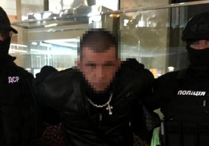Задержание вымогателей в Харькове