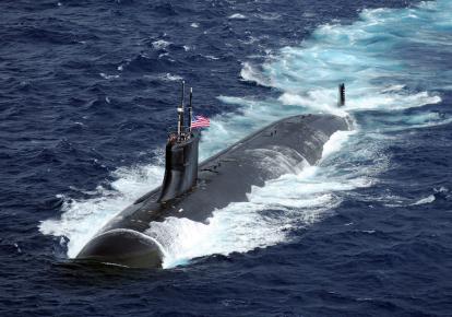 Американская субмарина класса Seawolf