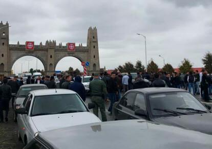 Митинг в Магасе. Фото: Ингушетия_2018 / Telegram