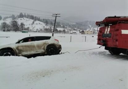 Погодные условия могут привести к нарушению движения транспорта
