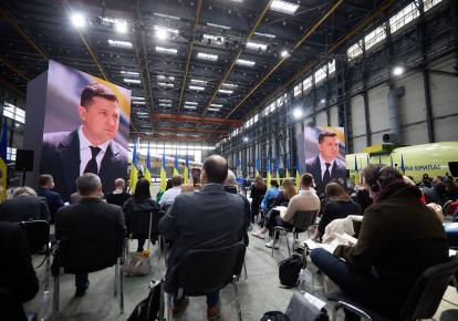 Пресс-конференция президента Украины