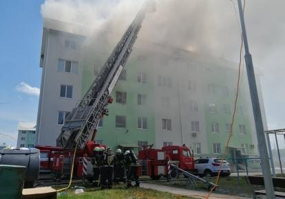 Наслідки вибуху в Білгородці