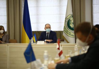 Максим Степанов на зустрічі з послами G7