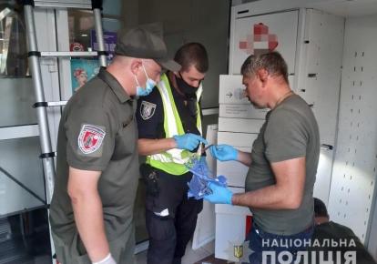 """Вибух на """"Новій пошті"""" в Києві"""