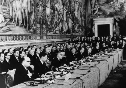 Європейські співтовариства були засновані Римським договором 1957 року, але припинили своє існування в 2009 році