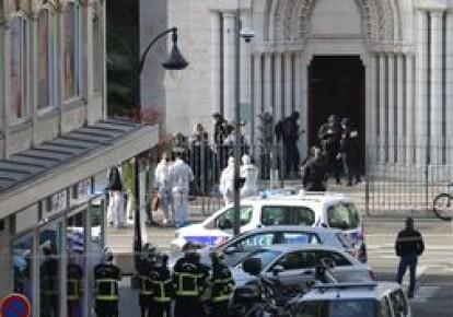 Теракт в базиліці Нотер-Дам в Ніцці