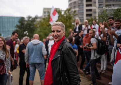 Марія Колесникова затримана на кордоні Білорусі з Україною