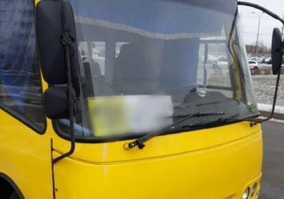 """Утром 9 марта патрульные заметили неисправный автобус """"Богдан"""""""